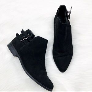 Forever 21 Black Ankle Boots Size 6.5